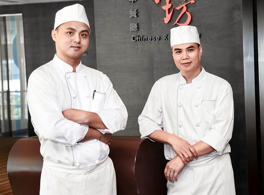 諾富特邀請徐釧華師傅及寧彩龍師傅為客座主廚。(諾富特提供)