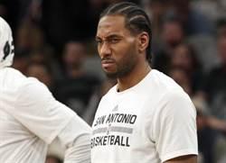 NBA》馬刺搖頭!里歐納德跳槽西區球隊無望