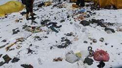 聖母峰變樣!登山客無公德心 世界屋脊淪世上最高垃圾場