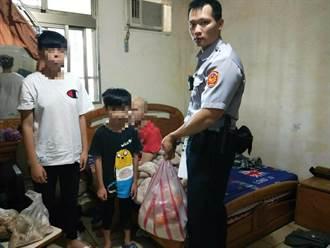 盲父不堪經濟壓力輕生 8歲童報警救父