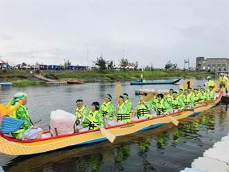 雲林首次龍舟賽34支決賽隊伍冒雨寫歷史  成績出爐