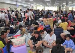 澎湖海運停航2天 機場暴增2000多人候補