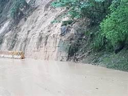 南台豪雨  阿里山道路坍方中斷搶修中