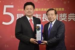 傅崐萁創台灣政壇新紀錄 全台唯一九連霸五星縣長