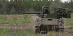 俄國無人坦克首度上戰場 結果表現不佳