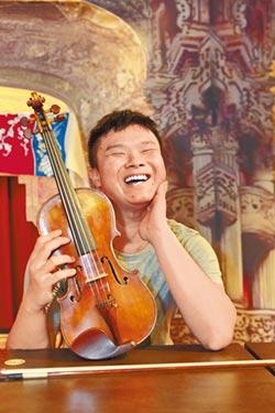 《擁抱美麗之窗》 視障小提琴家夏官鼎 看不見光 讓自己發光