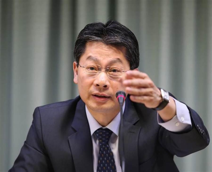 外交部發言人李憲章。(資料照片,陳怡誠攝)