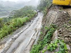 連日降雨  嘉義縣山區多處道路傳坍方中斷