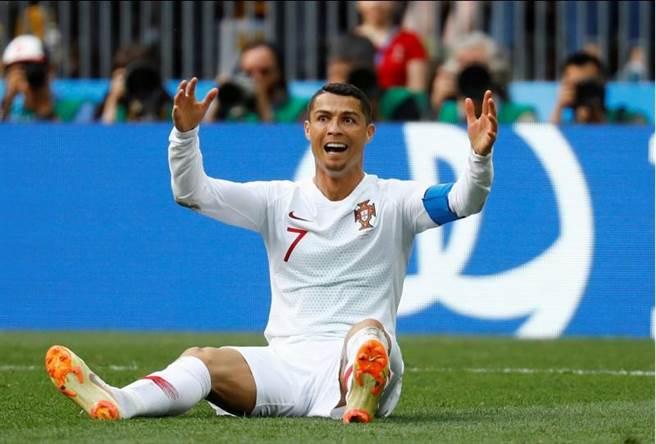 C羅已經成為國際賽進球最多的歐洲球員。(路透)