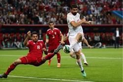 世足》柯斯塔幸運進球 西班牙勝伊朗開張