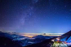 合歡山星空美 7月申請國際暗空公園