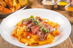 吃吧影藏版菜單 牛排粗管麵超值