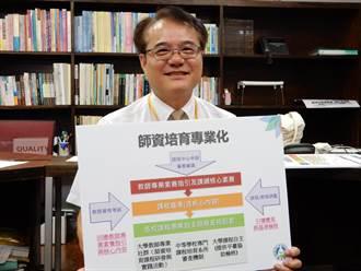 教育專業課程整合培育 學生可取得國中小學教師