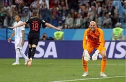 世足》門將超低級失誤 阿根廷送克羅埃西亞晉級