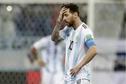 世足》阿根廷60年來最大慘敗 梅西647分鐘沒進球