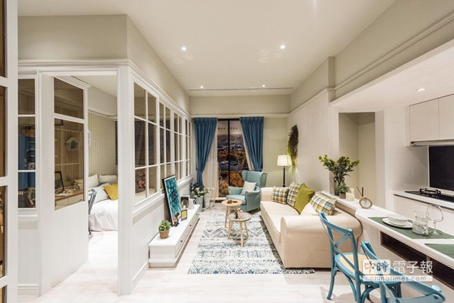 鴻築Ai-City樂捷市,營造溫暖家庭的感覺,為首購家庭的最佳選擇。圖/業者提供