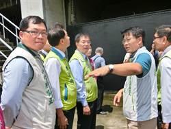 黃偉哲:台南淹水減少96% 未來目標零淹水