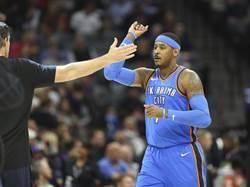NBA》紐時:安森尼不跳脫合約 仍想離開雷霆