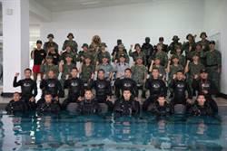 嚴德發視導金門駐軍  稱退撫基金快破產