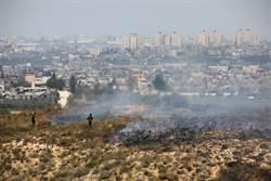 巴勒斯坦人用保險套製作爆炸氣球
