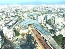 台中大車站打造立體停車場、轉運中心