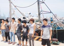 陸漁船越界捕魚 海巡罰60萬驅離