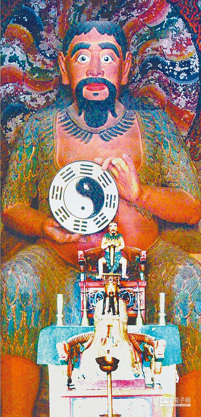 伏羲聖像。(本報系資料照片)