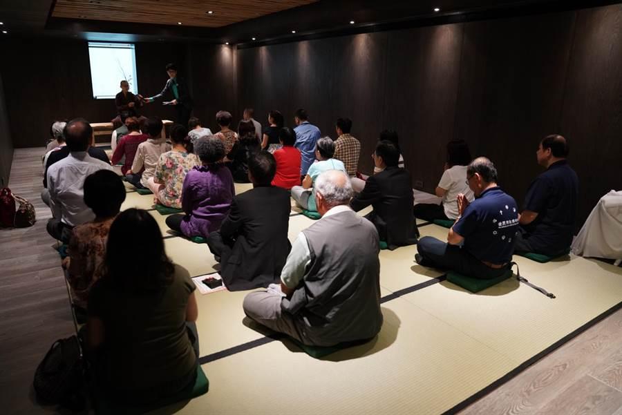 宗教博物館的「生命和平多元空間」設有「放空室」,可以體驗心寧靜一分禪,是難得的都市禪修空間。(世界宗教博物館提供)