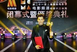 黃少祺上海電影節領獎 吃串燒、看世足賽慶功