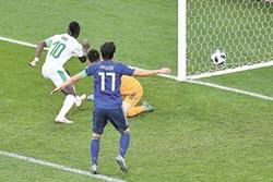 韌性十足 日本逼和塞內加爾