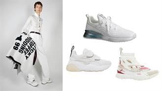 就是看不膩!小白鞋在進化繼續時髦一整季