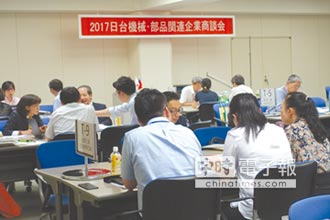 臺日機械業 6月28日東京經貿商談
