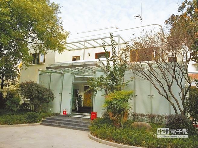 上海市公共關係研究院建築外觀。(取自上海市公共關係研究院官網)