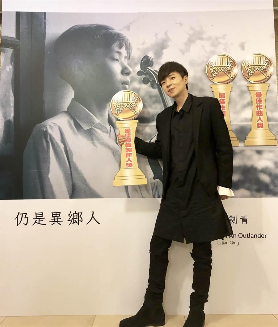 李劍青7月將於台北、台中開唱。(相信音樂提供)