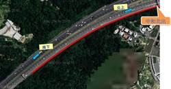 國3中和交流道北上 每日7至20時開放路肩大客車通行