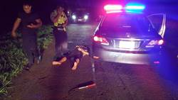 慣竊酒駕還衝撞警 最後遭警噴辣椒水制伏