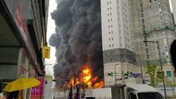 韓國工地失火27傷 含12名中國公民