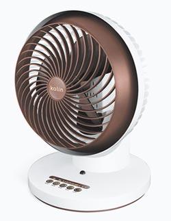 歌林360度陀螺循環扇 涼一夏