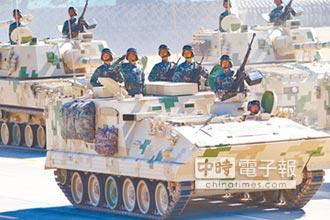陸122毫米自走炮 天山下秀火力