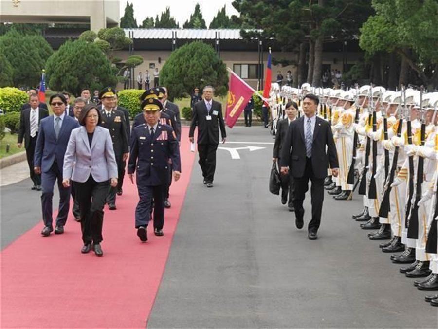 蔡英文總統日前出席警大畢典。(資料照/蔡依珍攝)