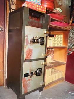 埔里五福宮保險箱被偷 竊賊未能開啟即落網