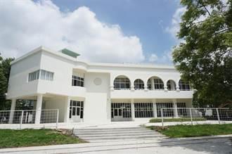 花博「囍香逢館」擁白牆、拱窗 被譽為豐原小白宮