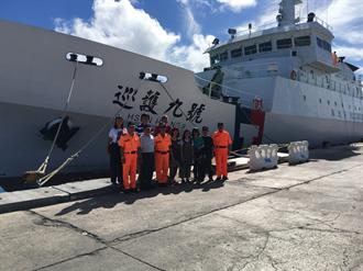 海巡署專屬巡護9號 赴馬紹爾護漁