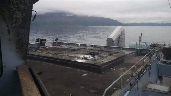 薩克森號出事的MK41發射器。(圖/defence-blog)