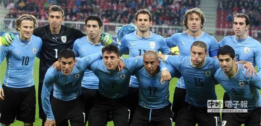世界杯足球賽烏拉圭(本報系資料照/美聯社)