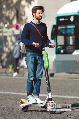 共享電動滑板車Lime從巴黎攻進全歐洲