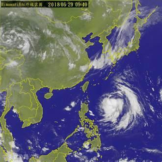 颱風注意  輕颱巴比倫確定生成