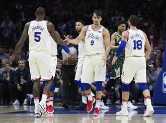 NBA》七六人搶里歐納德籌碼 雙先發加首輪籤