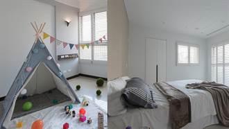 白與白的空間對話!簡單平淡的居家設計反而更讓人期待