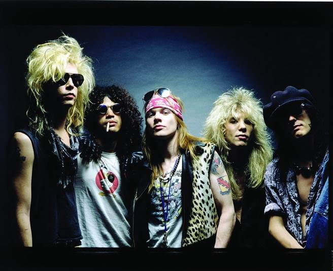槍與玫瑰合唱團被譽為「死前必看的50組樂團」之一。環球音樂提供。